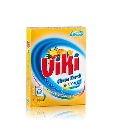 Viki Washing Powder Citrus Fresh Automat